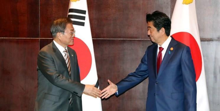 تأکید ژاپن و کره جنوبی بر لزوم حل اختلافات تلخ میان دو کشور