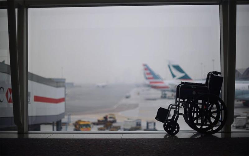 نکاتی برای پرواز، ویژه معلولان