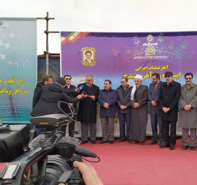 عملیات احداث ریل گذاری در کردستان وارد فاز اجرایی می شود