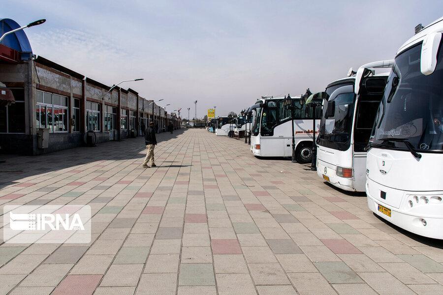 جابه جایی مسافر در استان مرکزی 66 درصد کاهش یافت
