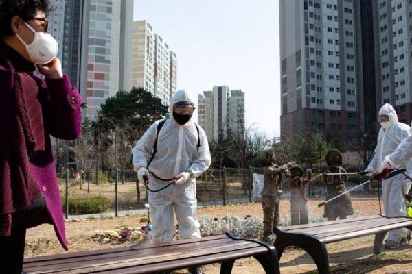 فرایند ابتلا به کرونا در کره جنوبی نزولی شد