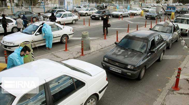 ترافیک در محورهای ورودی تهران سنگین است