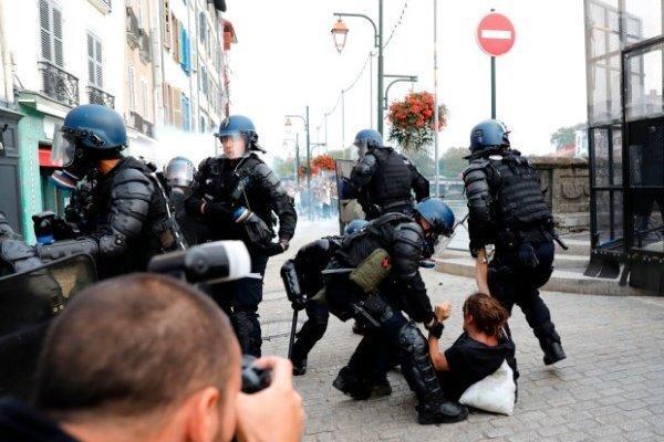 افزایش 23 درصدی شکایت از نیروی پلیس فرانسه