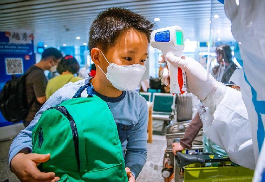 ورود گونه جدید کرونا در پکن از اروپا