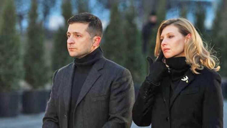 همسر رئیس جمهوری اوکراین به کرونا مبتلا شد