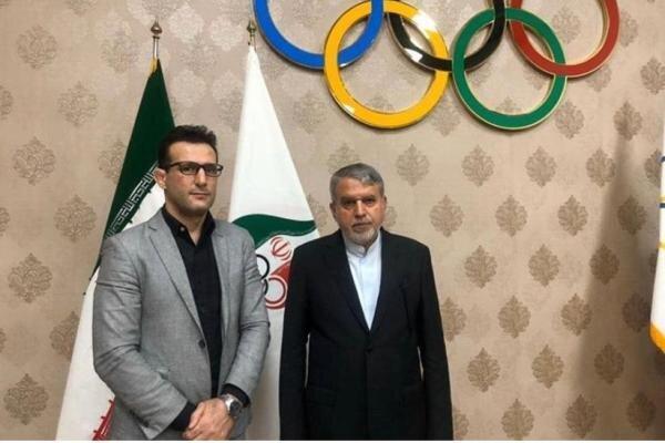 رئیس کمیته ملی المپیک از فدراسیون جودو بازدید می کند
