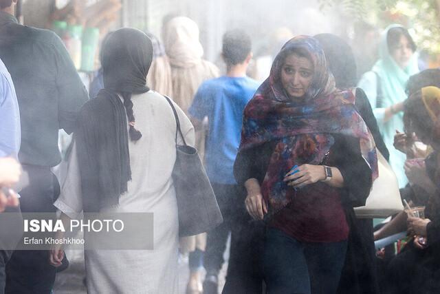 ازن چند روز از بهار تهران را آلوده کرد؟