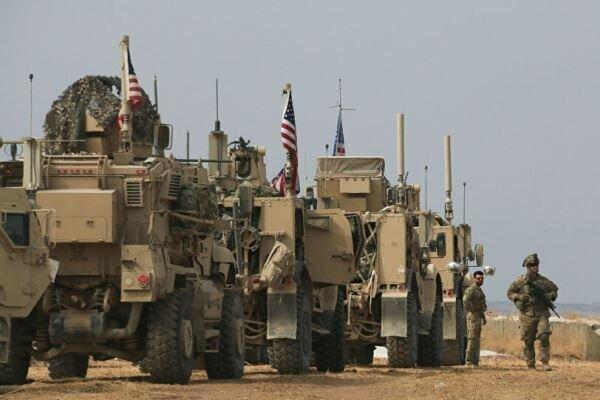 ورود 65 خودروی حامل تجهیزات نظامی و لجستیک آمریکا به الحسکه سوریه