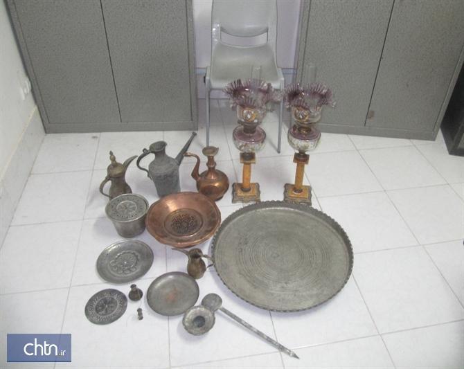 اهدای 15 شیء تاریخی به موزه مردم شناسی تایباد