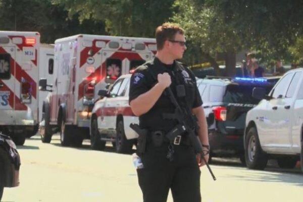 زخمی شدن 3 افسر پلیس در حادثه گروگانگیری در تگزاس
