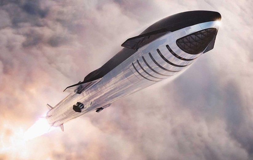 گنجایش فضاپیمای استارشیپ قابل مقایسه با ایرباس A380 است