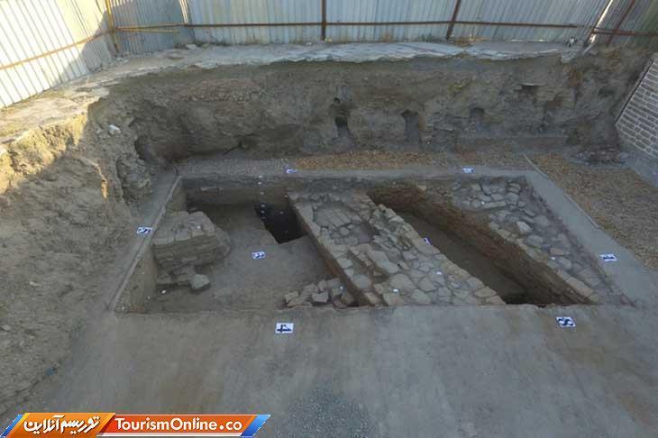کشف شواهد معماری و یافته های باستان شناختی در ضلع شرقی مسجد جامع ارومیه