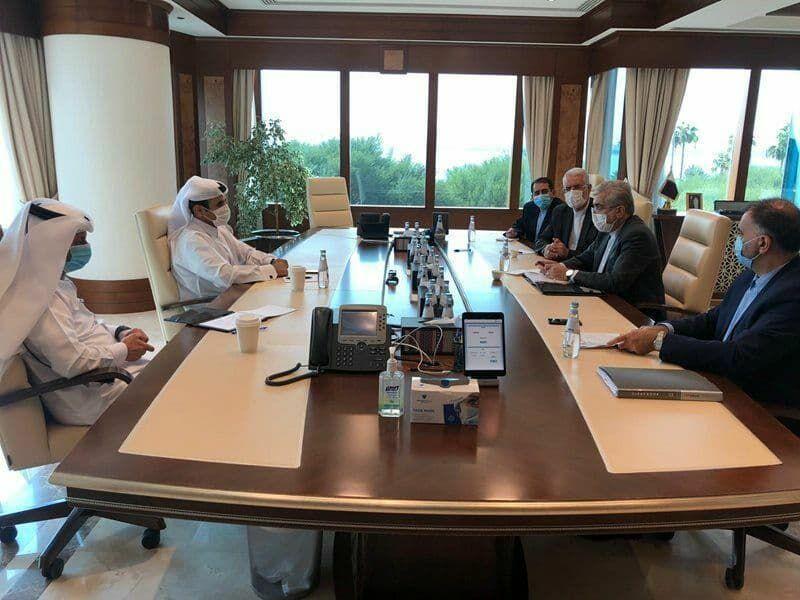 خبرنگاران وزیر نیرو با وزیر مشاور در امور انرژی قطر ملاقات کرد