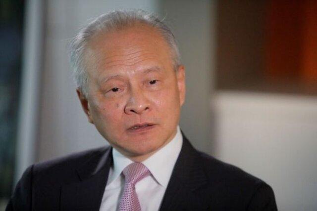 تأکید سفیر چین در واشنگتن بر لزوم حسن نیت در روابط چین و آمریکا