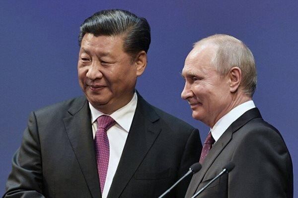 رؤسای جمهور چین و روسیه مصاحبه کردند