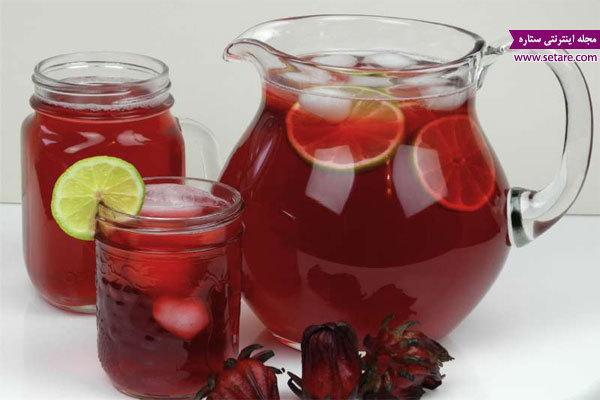 خواص چای ترش؛ برای درمان دیابت و فشار خون چای ترش بنوشید!