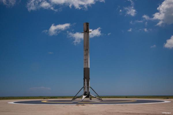 رونمایی ایلان ماسک از مکانیزم بی سابقه فرود راکت سوپرهوی