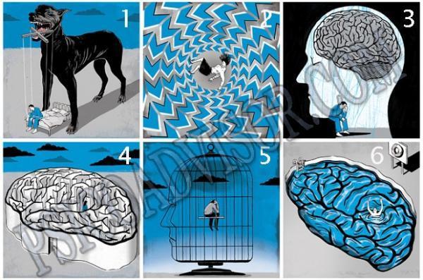 تست روانشناسی؛ افسرده هستید؟!