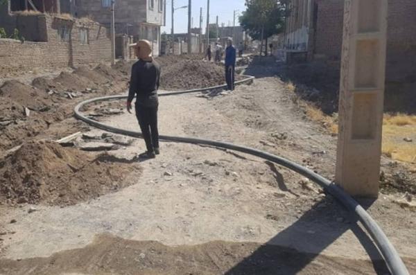 92درصد خط انتقال فاضلاب شهر بجستان اجرا شد