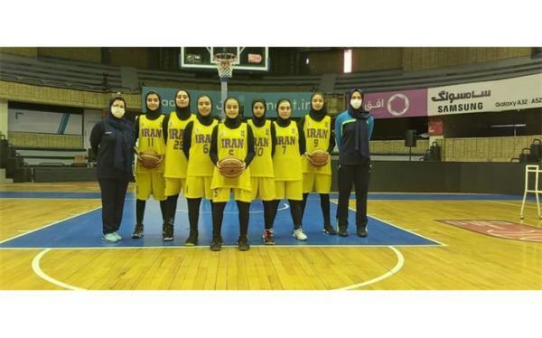 مربیان و اعضای تیم ملی بسکتبال زیر 15 سال مهارت های چالشی دختران و پسران ایران معرفی شدند