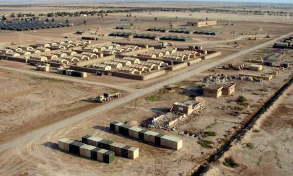 حمله پهپادی به پایگاه نظامیان آمریکا در عین الاسد