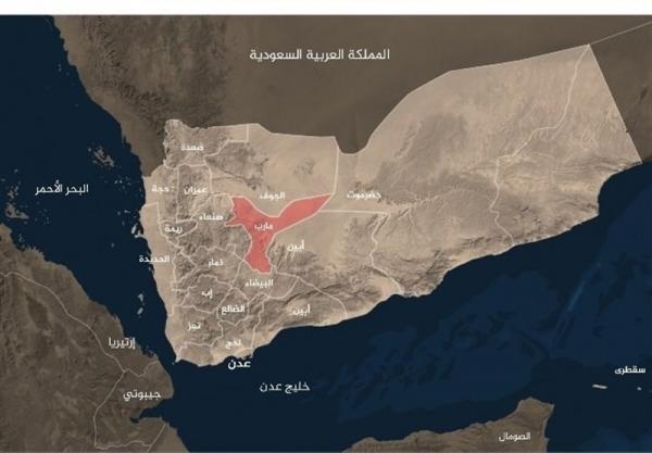 درگیری شدید قبایل یمنی با نیروهای ائتلاف سعودی در مأرب